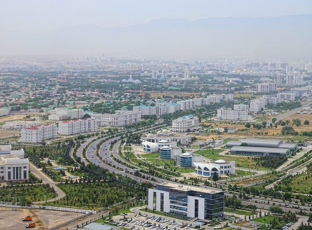 Ashgabat, capitale of Turkmenistan