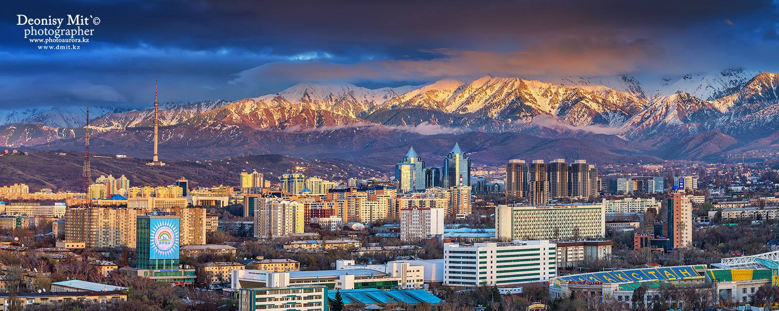 Almaty, former capital of Kazakhstan