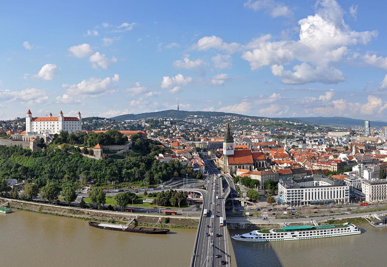 Bratislava, capitale of Slovakia