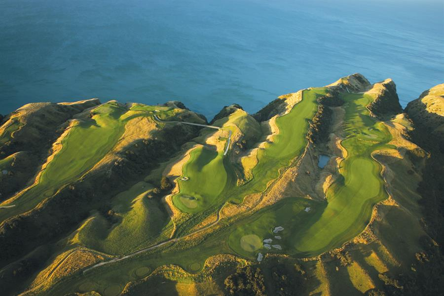 Golf de Cape Kidnapper, Nouvelle-Zélande