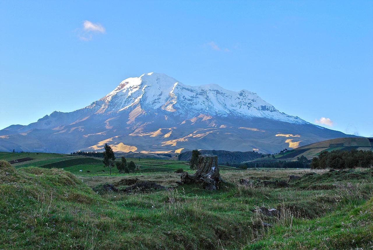 Volcan Chimborazo, plus haut sommet de l'Équateur