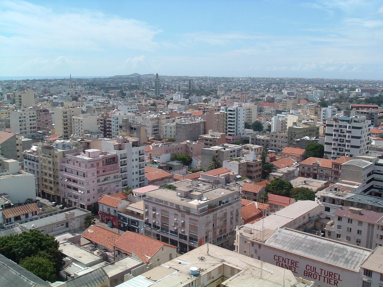 Dakar, capital of Senegal