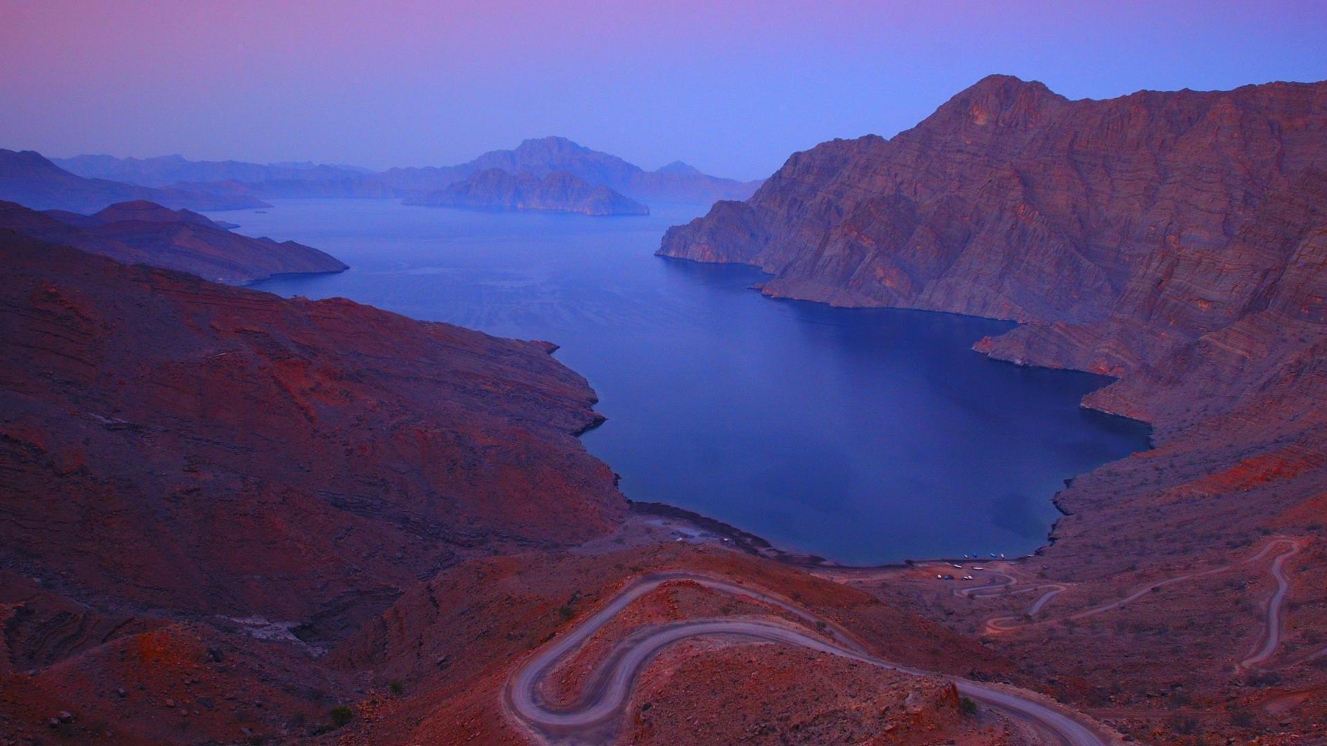 Khor Njad Fjord, Oman