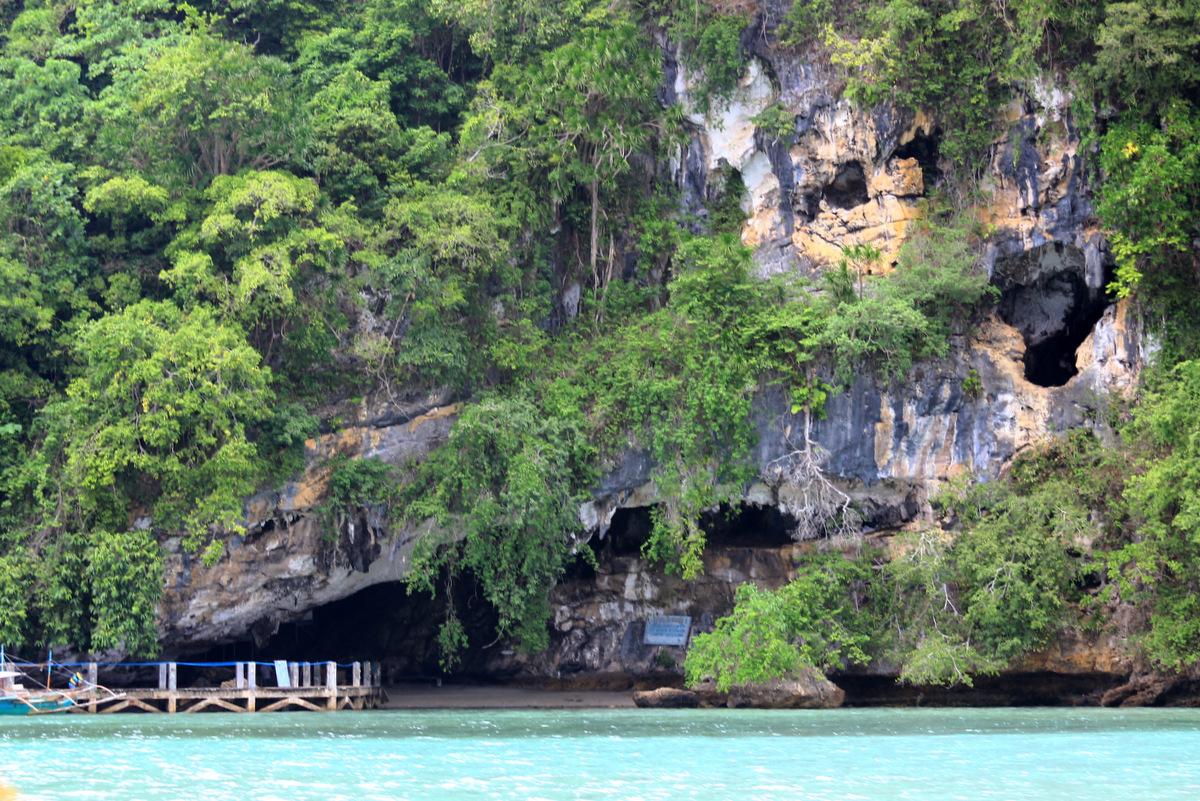 Grottes de Tabon, Philippines