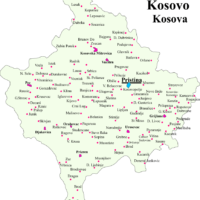 Kosovo – cities