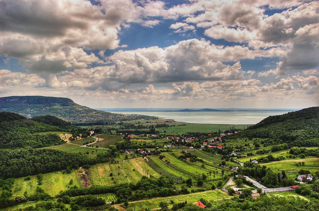 Lac Balaton, Hongrie