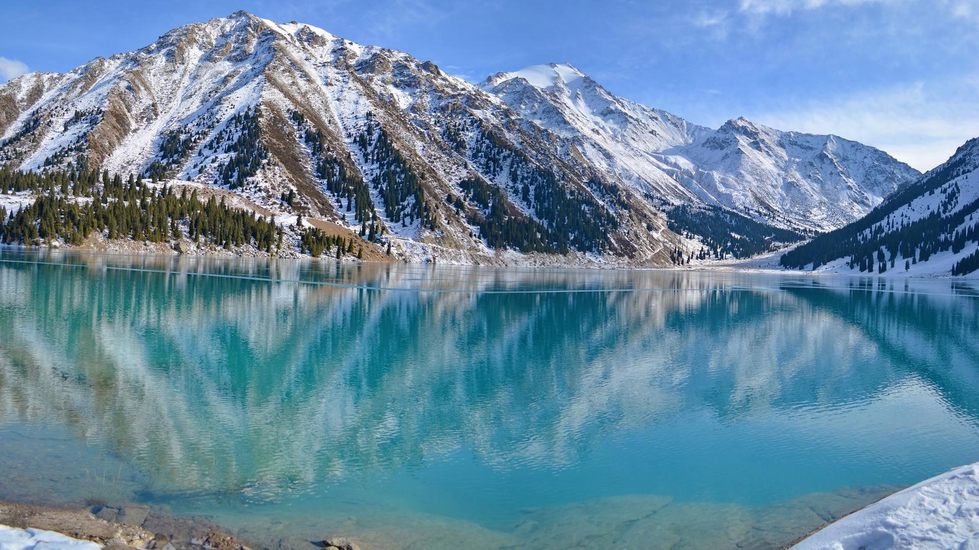 Lake Almaty, Kazakhstan