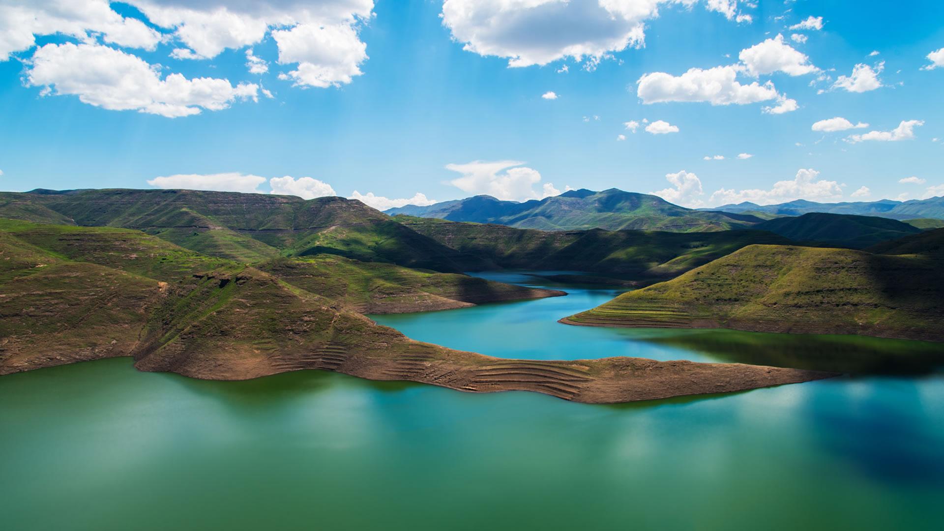 Lake, Lesotho