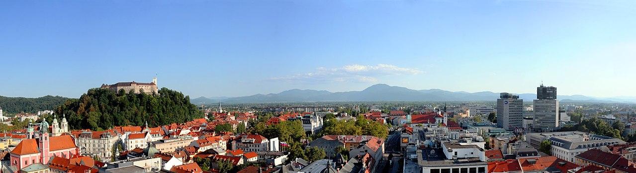 Ljubljana, capitale of Slovenia