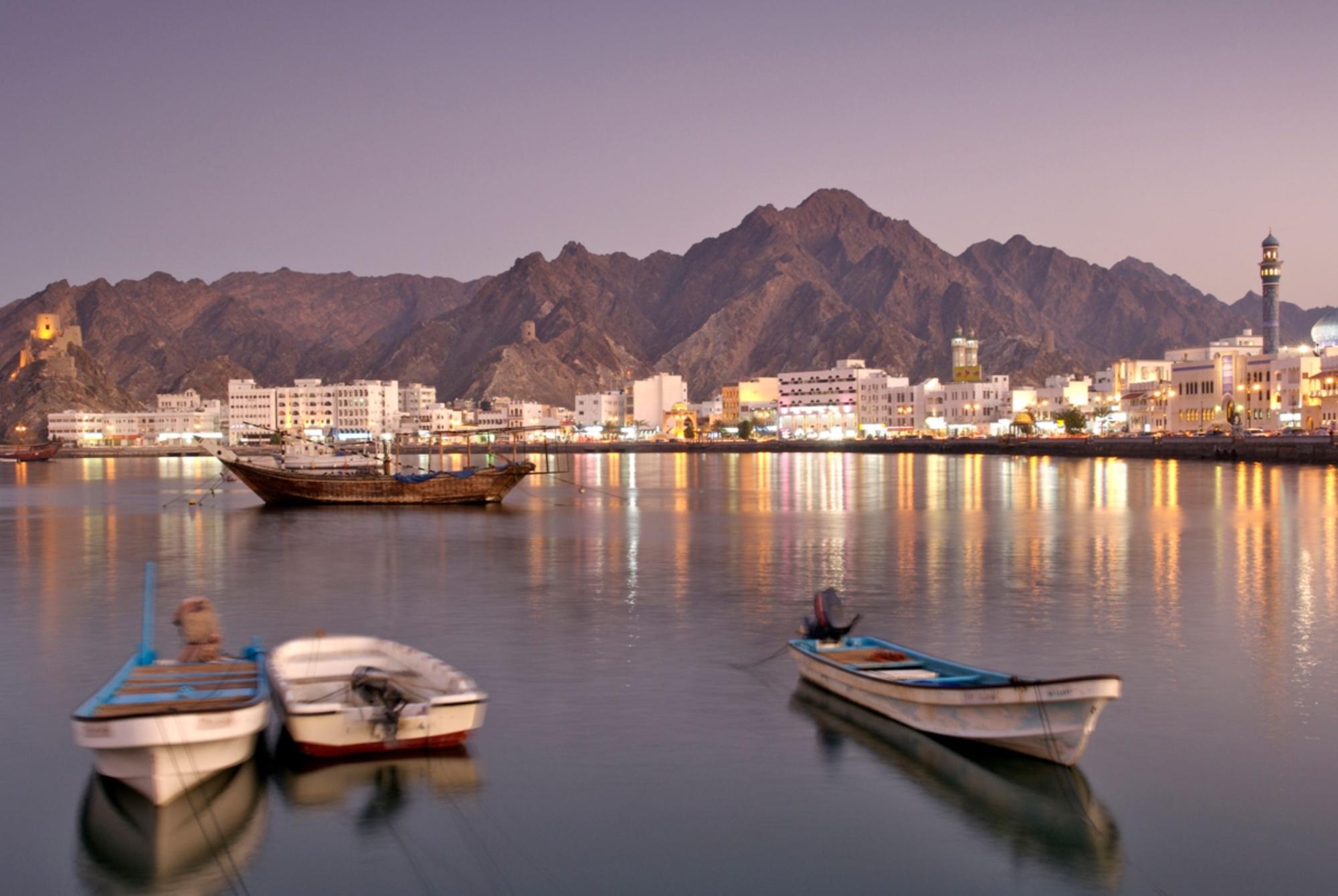 Muscat, capital of Oman