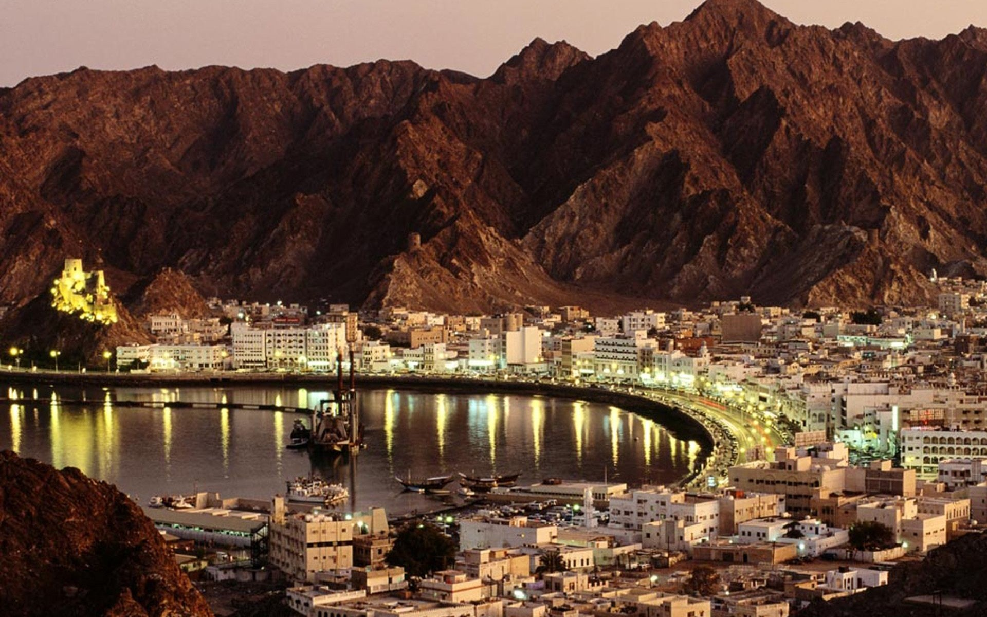 Muscat, capital of Oman