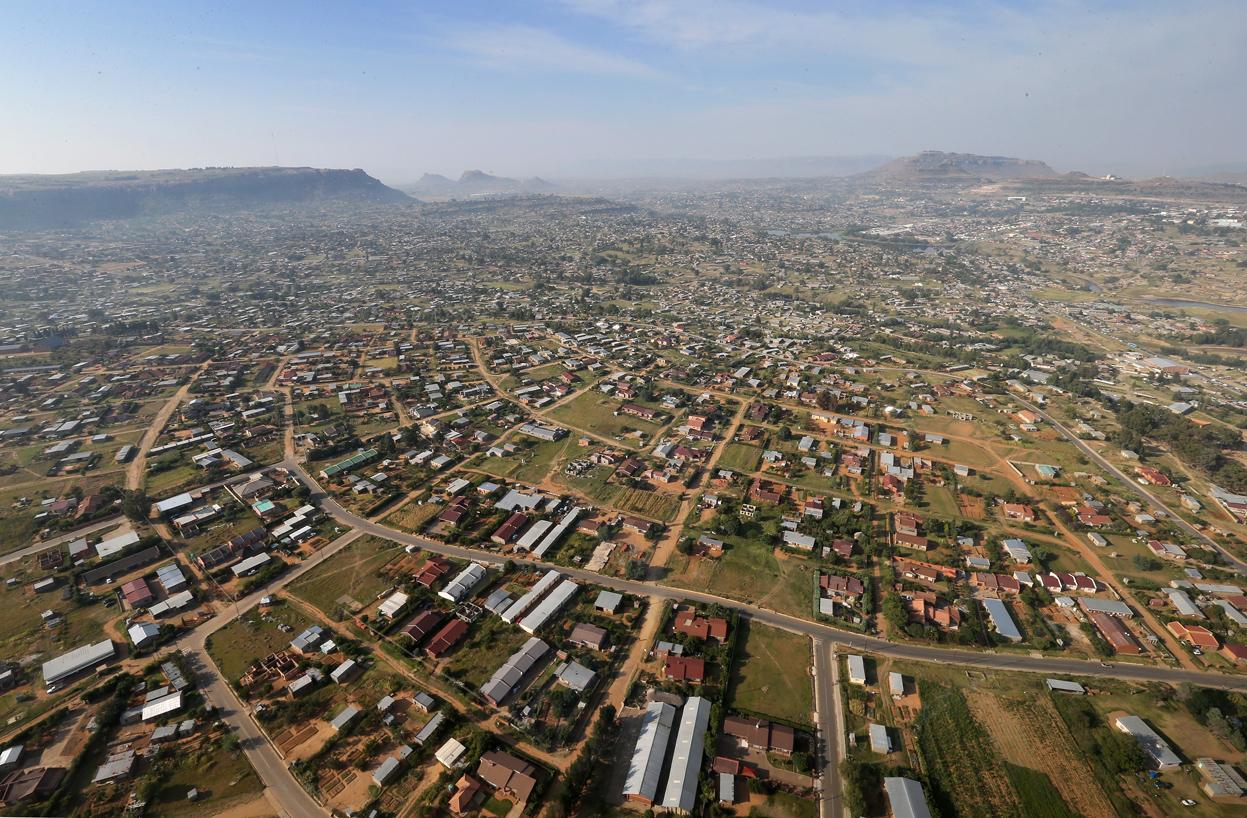 Maseru, capitale of Lesotho