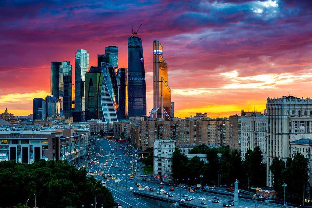 Moscow International Trade Center, Russia.