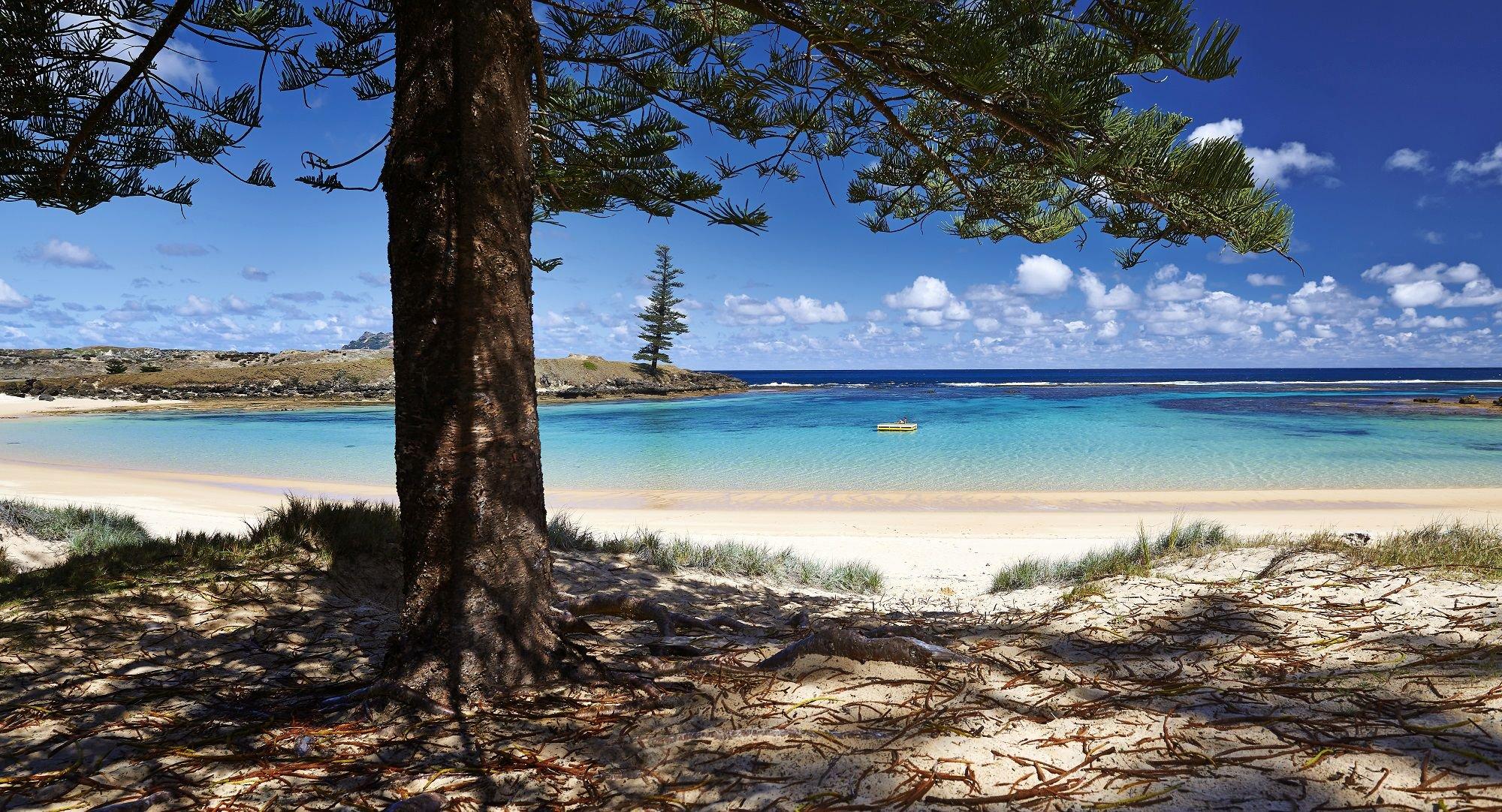 Beach in Norfolk Island