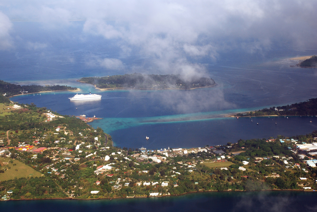 Port Vila, capital of Vanuatu