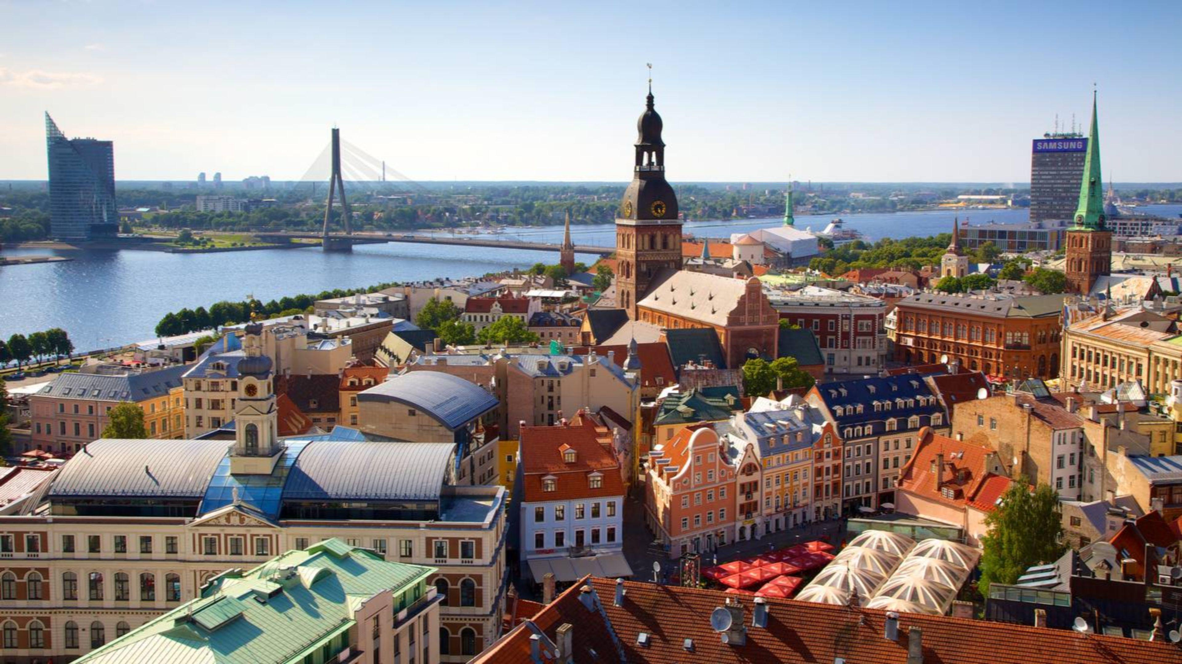 Riga, capitale of Latvia