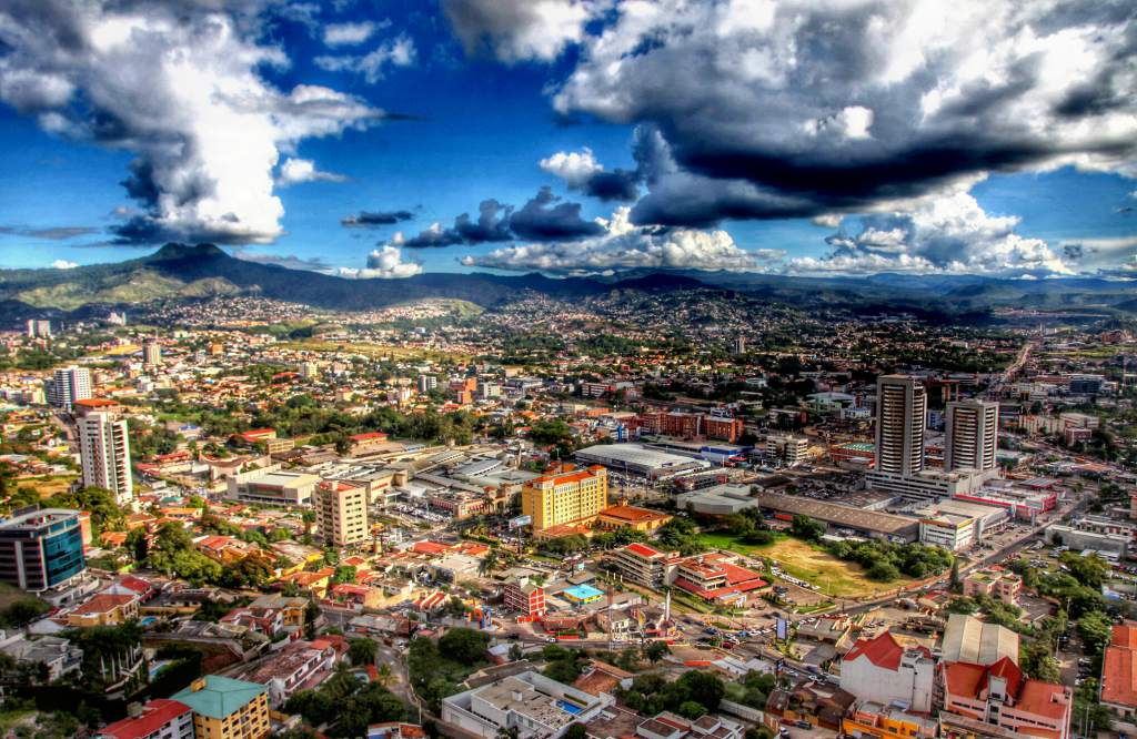 Tegucigalpa, capital of Honduras