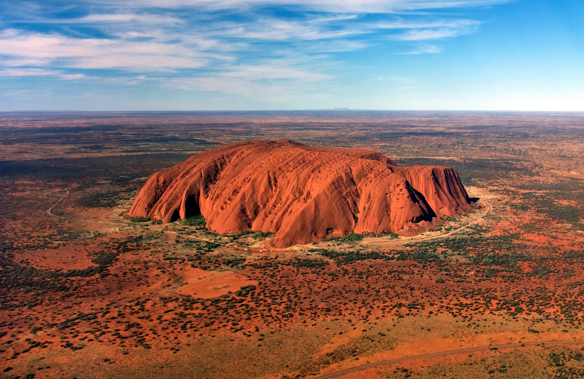 Ayers Rock, Australie.