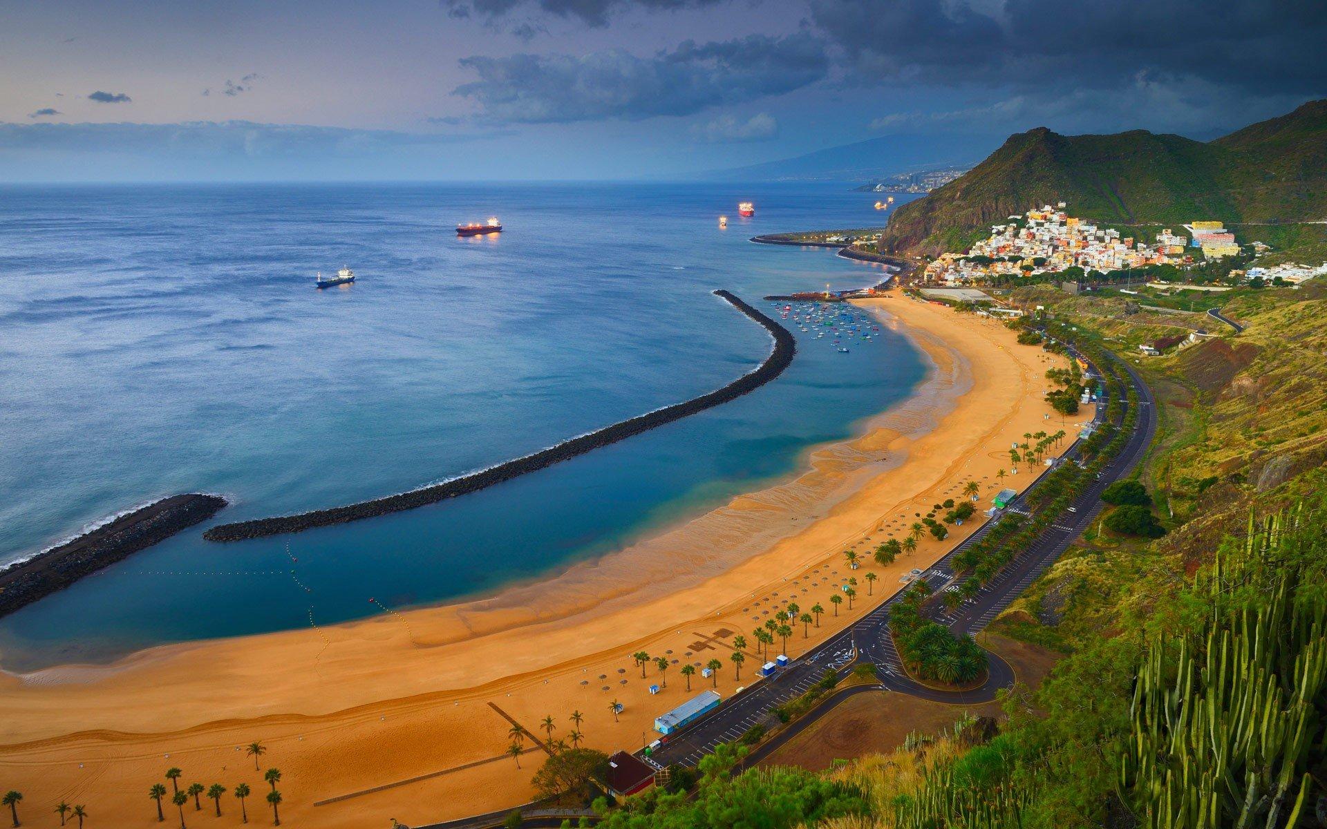 Beach in Canary Islands