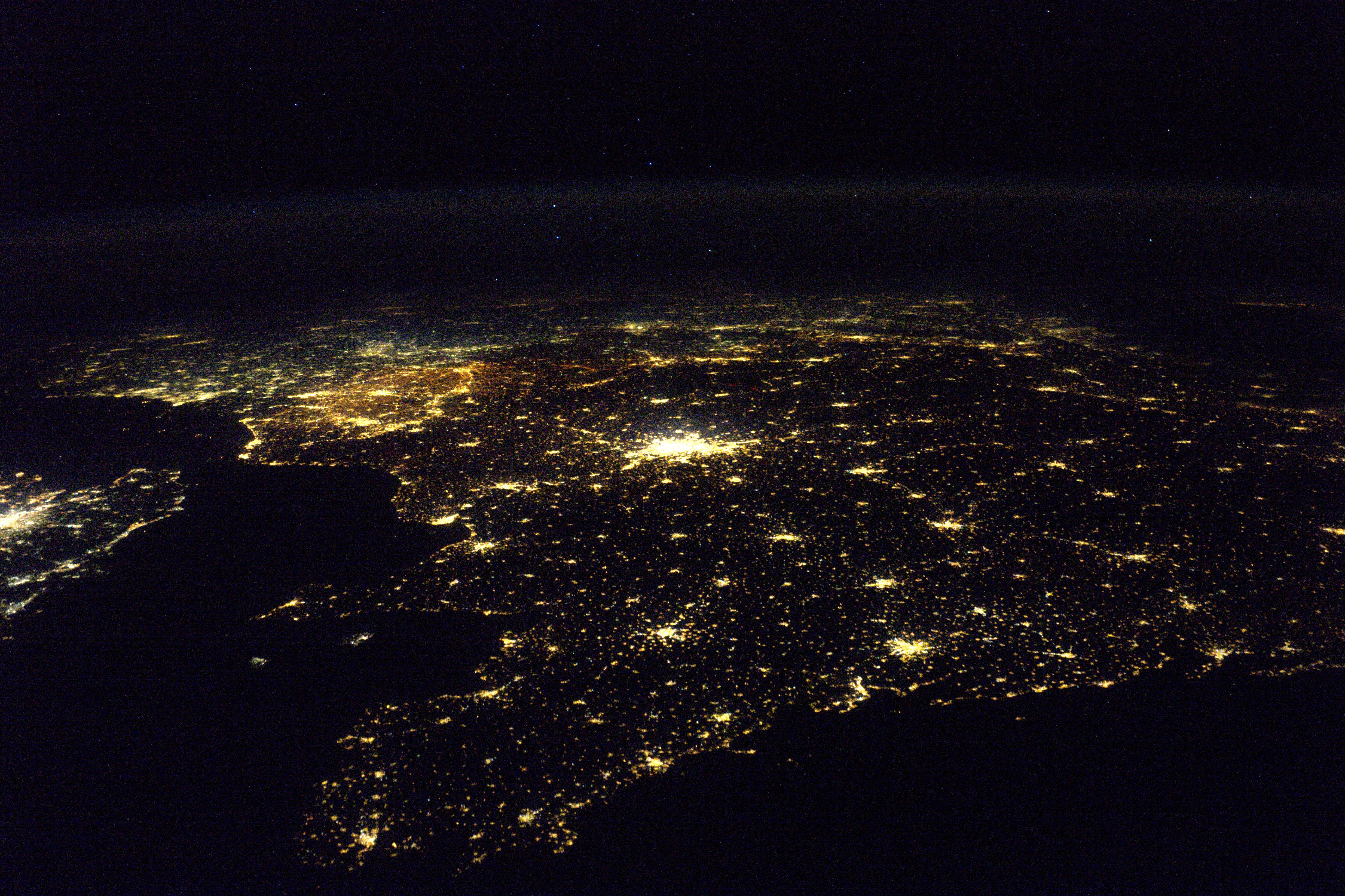 France - lumières de la nuit