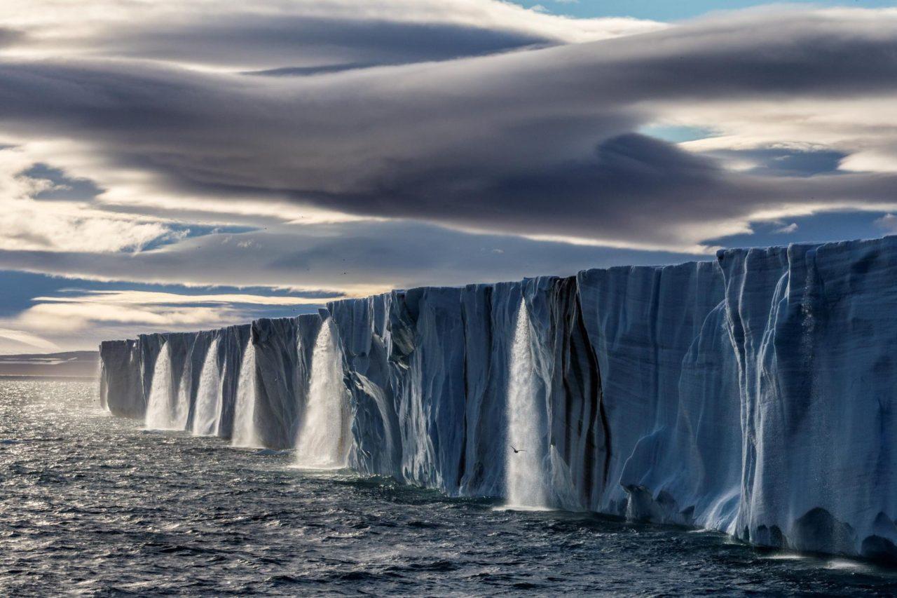 Glacier, Svalbard, Norvège