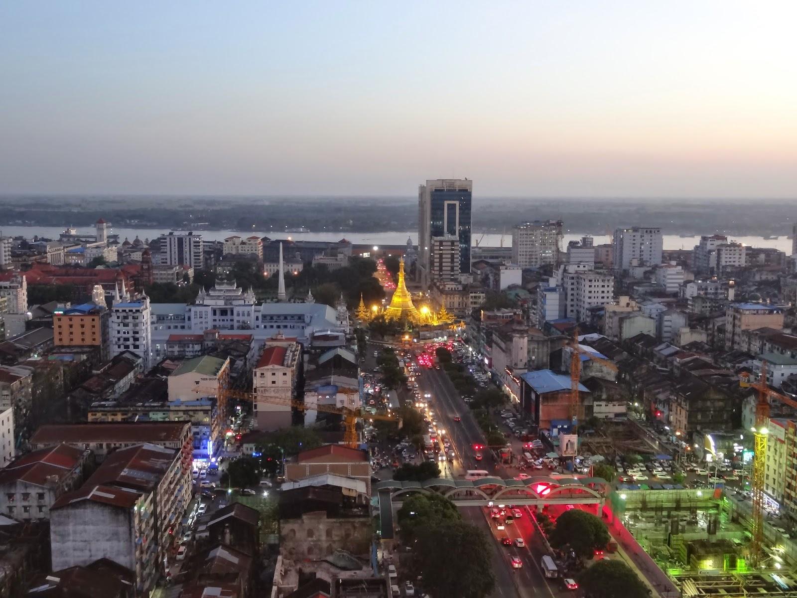 Yangon, economic capital of Burma