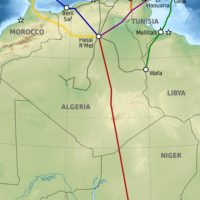 Africa-Europe – gas pipelines