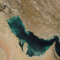 Persian Gulf – satellite