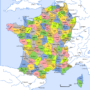 France – departments (1801)