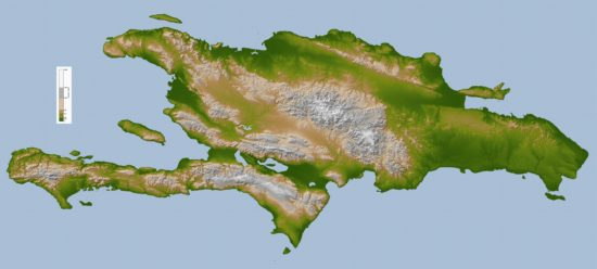 Hispaniola - topographique