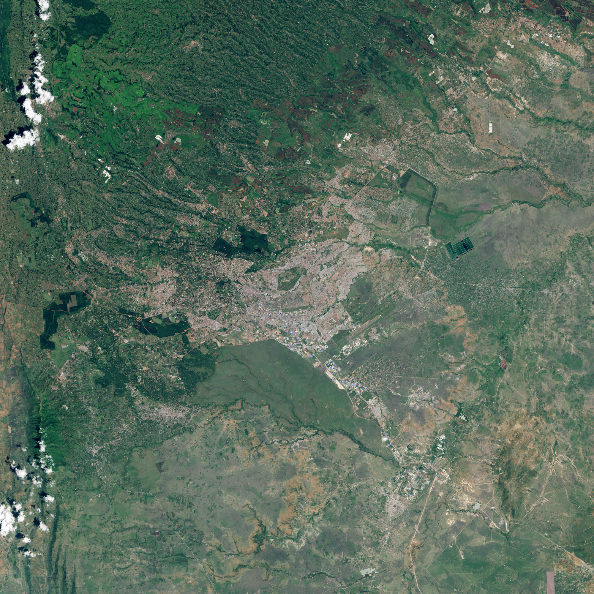 Kenya - Nairobi en 2016