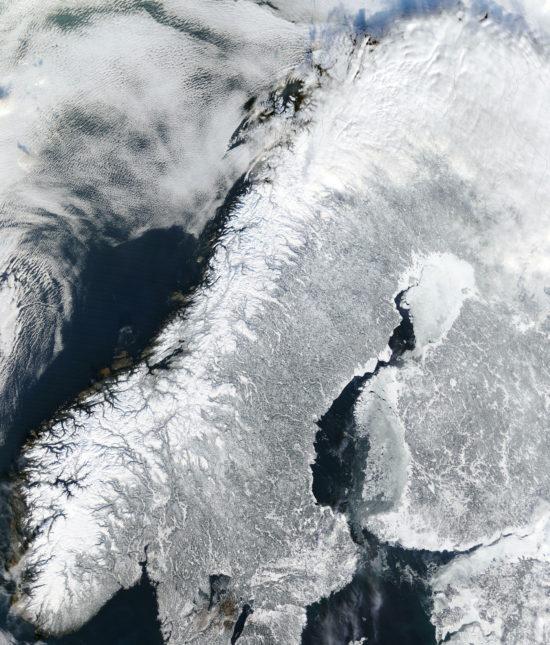 Scandinavie sous la neige (2003)