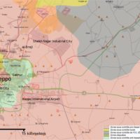 Alep, Syrie : situation militaire (1er novembre 2016)