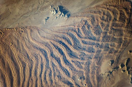 Namibie - dunes linéaires
