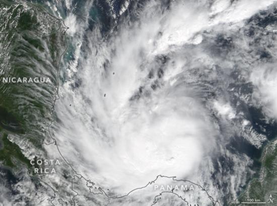 Tempête tropicale Otto (22 novembre 2016)