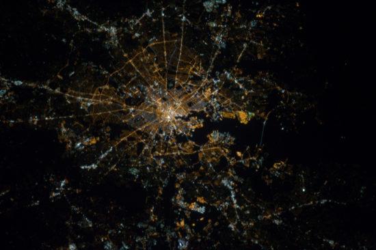 Baltimore - lumières de la nuit