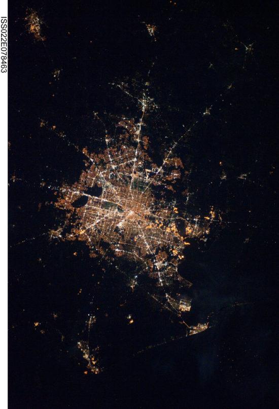 Houston - lumières de la nuit