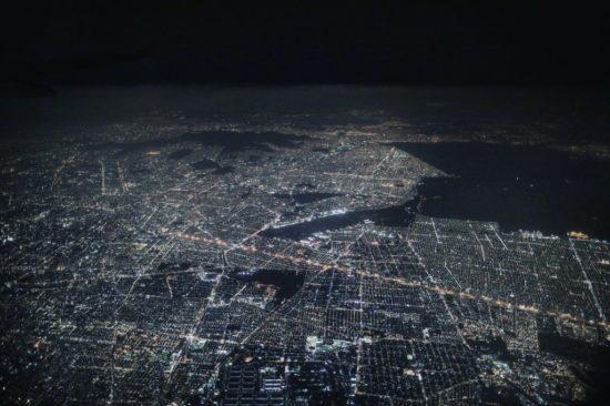 Mexico, vue la nuit depuis la Station spatiale internationale