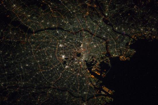 Tokyo - lumières de la nuit
