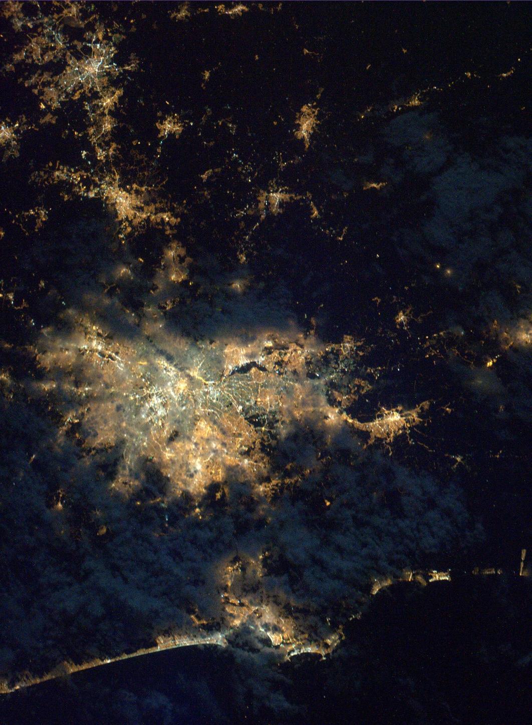 São Paulo, Brésil - lumières de la nuit