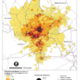 Luxembourg – density of commuters