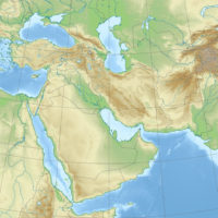 Middle East – topographic