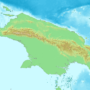New Guinea – topographic
