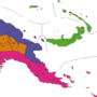 Papua New Guinea – regions