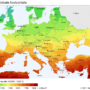 Europe – Solar Irradiation