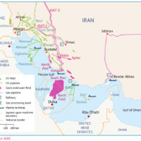 Persian Gulf – hydrocarbons