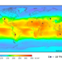 World – Solar Irradiation