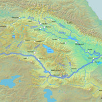 Caucasus – Aras and Kura rivers watershed