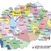 North Macedonia – administrative (municipalities)