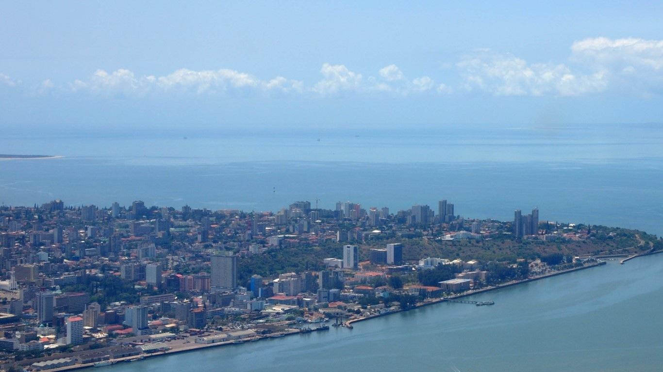 Maputo, capital of Mozambique